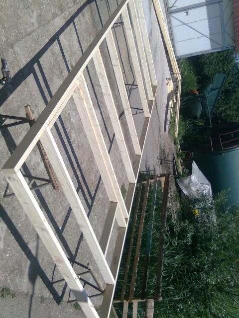 Výroba dřevostavby